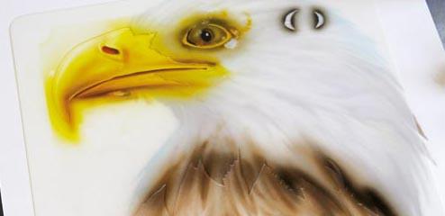 Eagle Wildlife - Harder & Steenbeck Airbrush