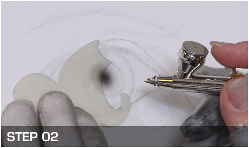 Freehand Portrait Set Eye - Harder & Steenbeck Airbrush